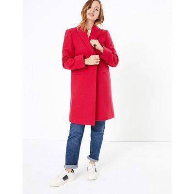 M&S Collection PETITE Soft Touch City Coat