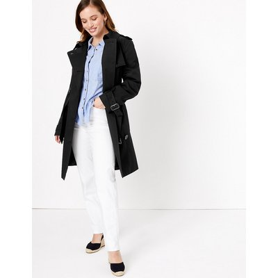 M&S Collection PETITE Double Breasted Coat