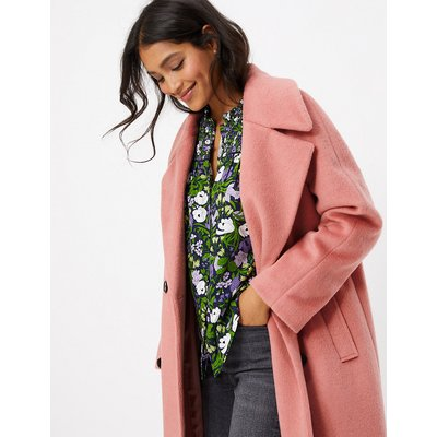 M&S Collection Raglan Sleeve Overcoat