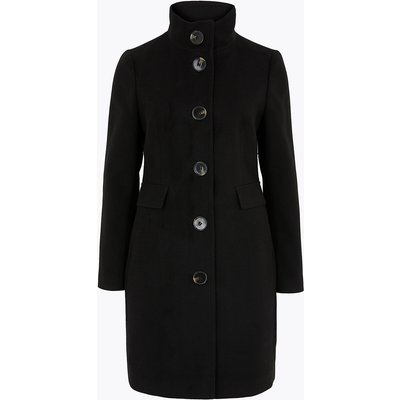 M&S Collection PETITE Funnel Neck Coat