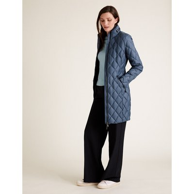 M&S Collection Feather & Down Quilted Puffer Coat