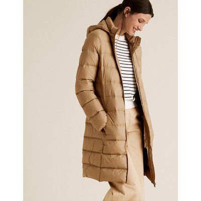 M&S Collection Feather & Down Puffer Coat