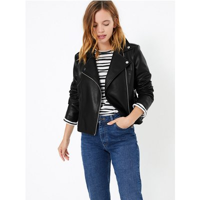 M&S Collection PETITE Zip Detail Biker Jacket