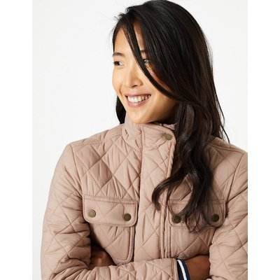 M&S Collection Quilted Utility Jacket