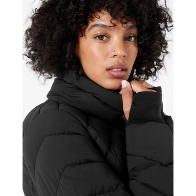 Stretch Longline Padded Coat