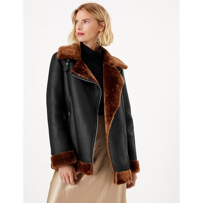 M&S Collection Aviator Jacket