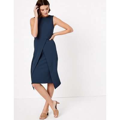Autograph Tailored Waisted Midi Dress