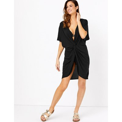 M&S Collection Twist Front Cover Up Kaftan