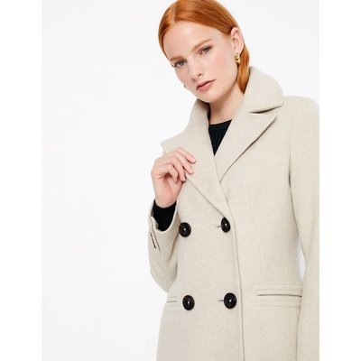 Autograph Fitted Double Breasted Coat