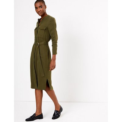 Autograph Utility Relaxed Midi Dress