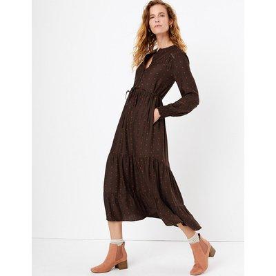 Per Una Lace Insert Pintuck Dress