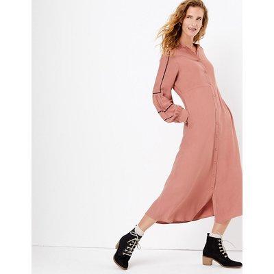 Per Una Stitch Detail Relaxed Midi Dress