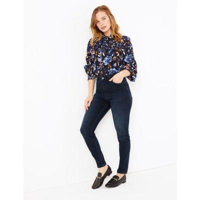 PETITE High Waisted Super Skinny Jeans blue