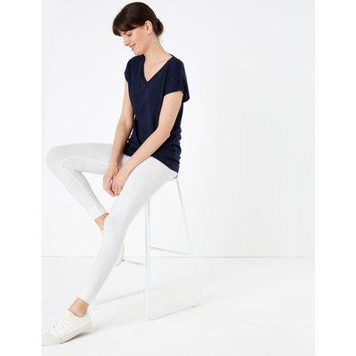 Stay New™ High Waisted Leggings white