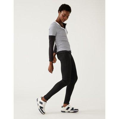 High Waist Super Skinny Jeans black
