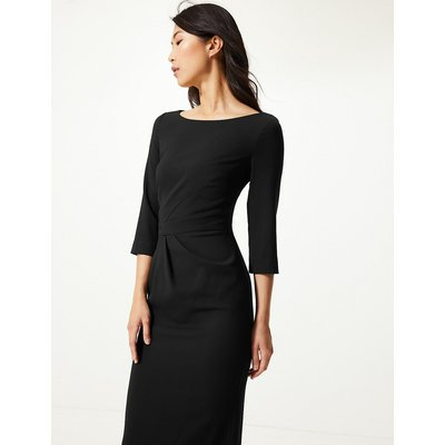 M&S Collection Seam Detail Bodycon Knee Length Dress
