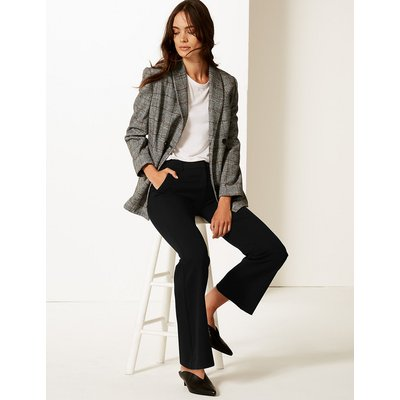 M&S Collection Slim Bootcut Trousers