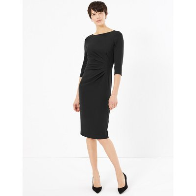 M&S Collection 3/4 Sleeve Bodycon Dress