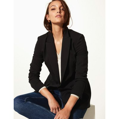 M&S Collection Longline Double Breasted Blazer