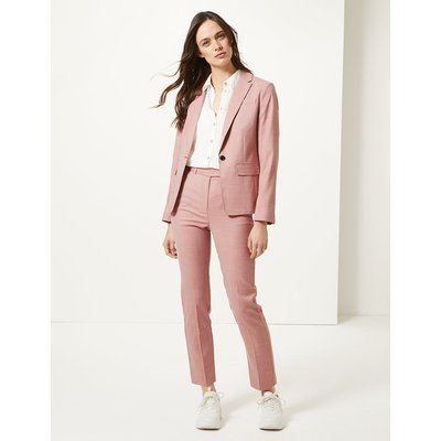 M&S Collection Slim Leg Ankle Grazer Trousers