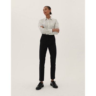 M&S Collection Mia Slim Jersey Ankle Grazer Trousers