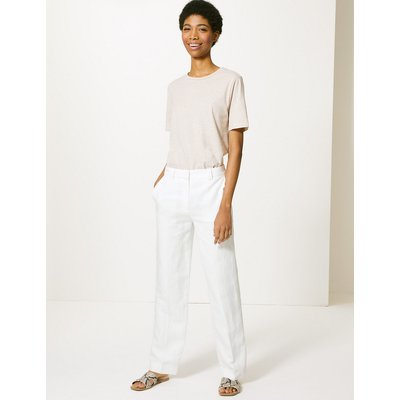 M&S Collection Freya Relaxed Straight Leg Trousers