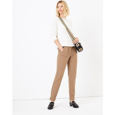 M&S Collection Mia Ponte Spot Ankle Grazer Trousers