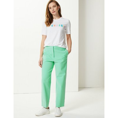 M&S Collection Evie Straight Leg 7/8th Trousers
