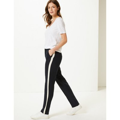 M&S Collection Freya Relaxed Side Stripe Trousers