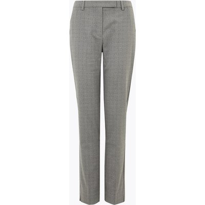 M&S Collection Mia Slim Pindot Ankle Grazer Trousers