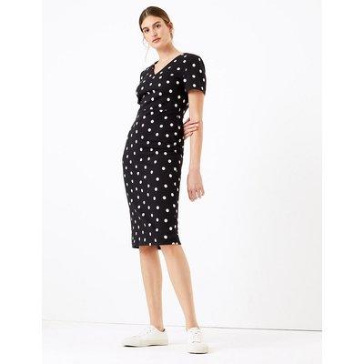 M&S Collection Polka Dot Bodycon Dress