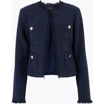 M&S Collection Tweed Short Jacket