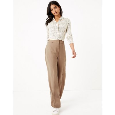 M&S Collection Tencel  Wide Leg Trousers