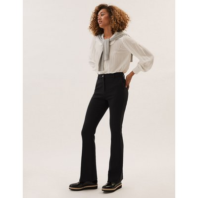 M&S Collection Slim Fit Flared Trousers