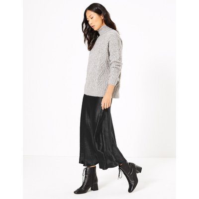 M&S Collection A Line Slip Skirt