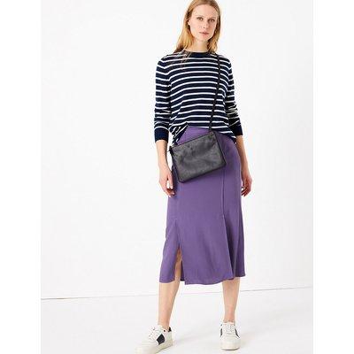 M&S Collection Split Front Pencil Midi Skirt
