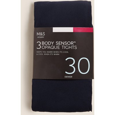 M&S Collection 3pk 30 Denier Body Sensor Tights