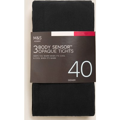 M&S Collection 3pk 40 Denier Body Sensor Tights