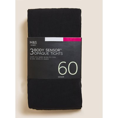 M&S Collection 3pk 60 Denier Body Sensor Tights