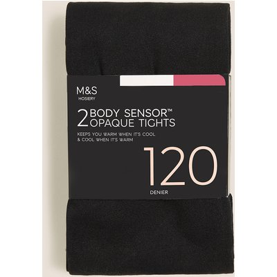 M&S Collection 2pk 120 Denier Body Sensor Tights