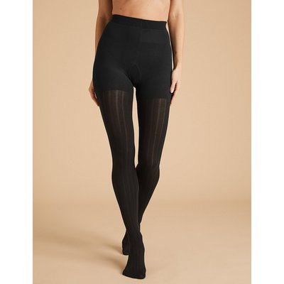 M&S Collection 180 Denier Heavyweight Rib Opaque Tights