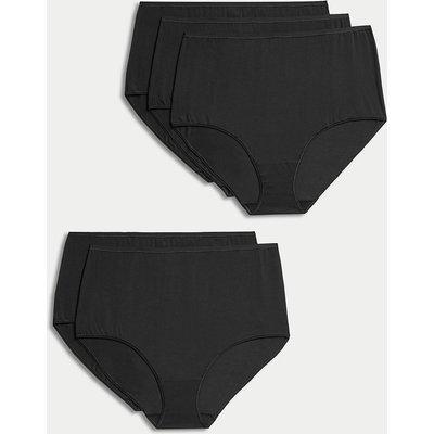 M&S Collection 5 Pack Supima Cotton & Modal No VPL Full Briefs