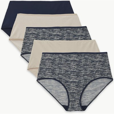 M&S Collection 5 Pack No VPL Full Briefs