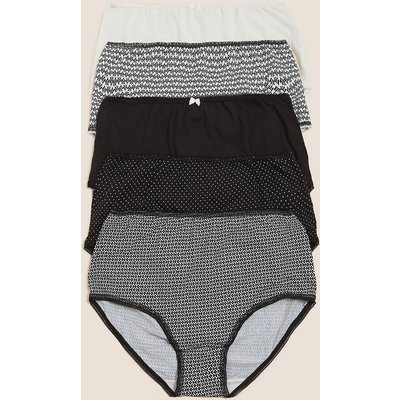 M&S Collection 5pk Cotton Full Briefs
