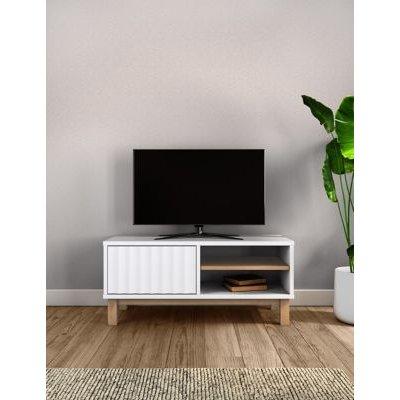 M&S Loft TV Unit - 1SIZE - White, White
