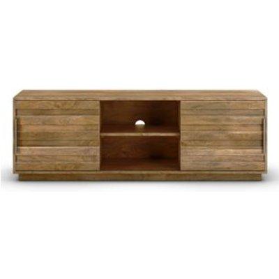 M&S Groove TV Unit - Wood, Wood