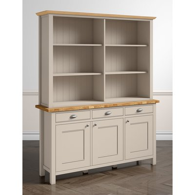 Padstow 3-Door Open Sideboard Top