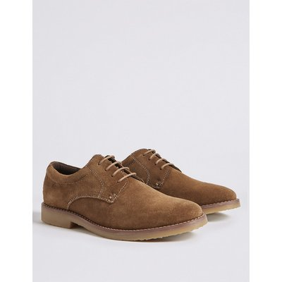 Kids' Suede Derby Shoes (13 Small - 7 Large)