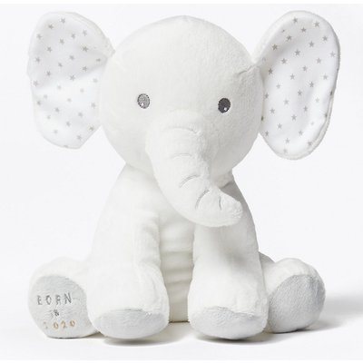 Born in 2020 Elephant Soft Toy