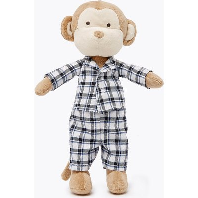 Monkey in Pyjamas Soft Toy